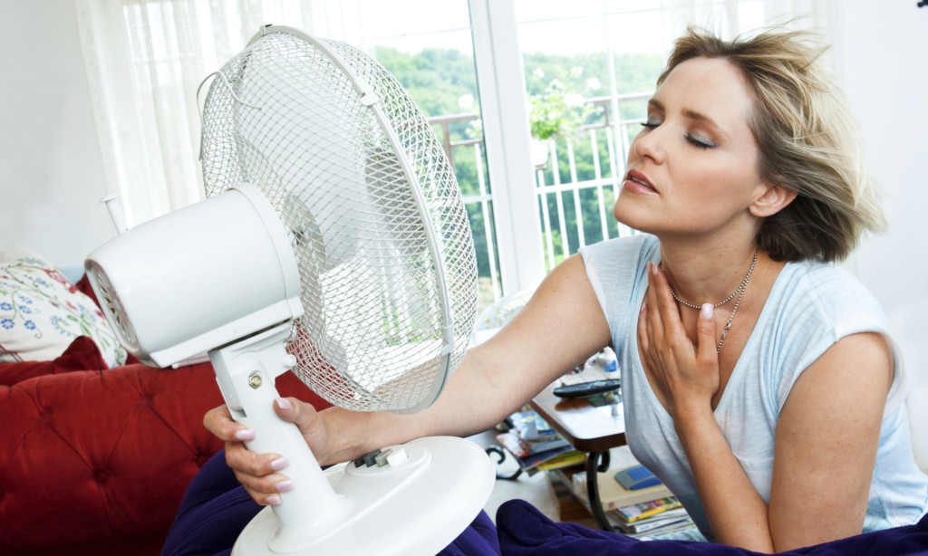 how to stop hot flashes caused by menopause